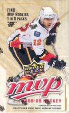 2008-09 Upper Deck MVP Hockey Hobby Box