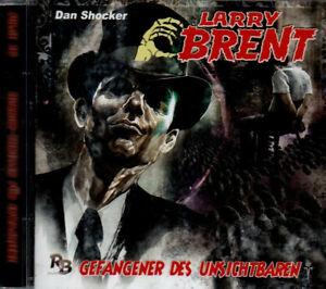 Hörbuch: Dan Shocker LARRY BRENT - Nr. 16 - Gefangener des Unsichtbaren