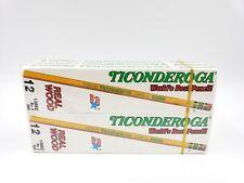 72 Vintage DIXON TICONDEROGA PENCILS No. 2 Soft Lead No. 1388 NEW