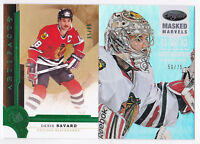 12-13 Certified Corey Crawford /75 Masked Marvels Mirror HOT BOX Blackhawks 2012
