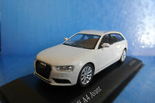 AUDI A4 AVANT 2011 IBIS WHITE MINICHAMPS 410011010 1/43 BREAK SW STATION WAGON