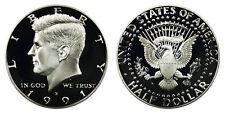 1991 S GEM BU PROOF KENNEDY HALF DOLLAR 50 CENT BRILLIANT UNCIRCULATED COIN PF