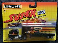 MATCHBOX SUPER RIGS #5 RACING PETERBILT - NEW - UNOPENED BLISTER PACK