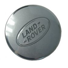 "Silver & Chrome Wheel Center caps Land Rover Freelander 2 LR2 Disco 22"" centre"