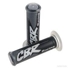 Black CBR Logo Hand Grips Honda 600RR 1000RR 900RR 929RR 954RR 600 F2 F3 F4 F4i