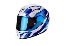 Casque de moto scorpion exo-710 air fuiro couleur: Bleu/Blanc Tai: M (57)