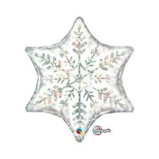 Party Supplies Birthday Disney Frozen Snowflake Holographic 56 cm Foil Balloon