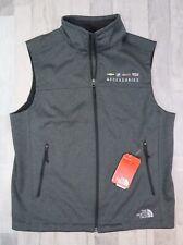 NWT Men's THE NORTH FACE Ridgeline Gray Soft Shell Vest Sz Large GMC Logo