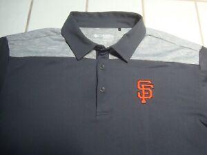 San Francisco SF Giants Baseball MLB Polo Shirt by Columbia Golf Mens XL NEW