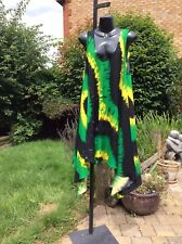 Jamaican Flag Colour Smock Dress......12-16