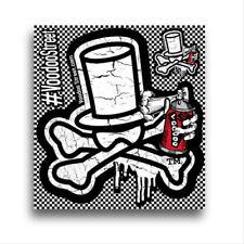 VOODOO Logo Autocollant par Voodoo Street ™, autocollants Comme le montre imperméable 95 mm en forme de