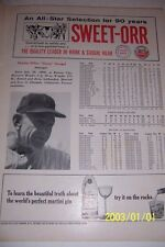 1965 NEW YORK METS vs CHICAGO CUBS Official Program CASEY STENGEL Yogi BERRA