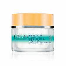 LUMENE BRIGHT NOW VITAMIN C Shine Control Cream-Gel- Mattifying- Pore Minimizing