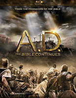 A.D. The Bible Continues Blu-ray Disc 4-Disc Set FREE SHIP - NEW