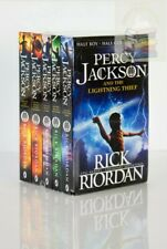 Percy Jackson & the Olympians 5 Children Book Collection Set Series
