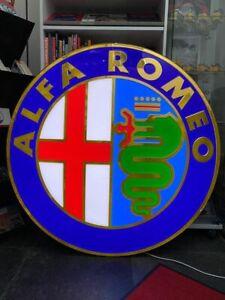 Alfa Romeo official dealer sign