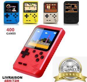 Gameboy Retro Portable Handheld Console de jeux avec 400 jeux