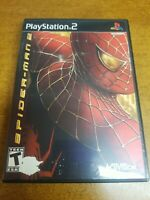 Spider-Man 2 (Sony PlayStation 2, 2005)(Tested)