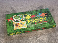 TOTOPOLY GAME : BY WADDINGTONS - RARE 1978 EDITION In VGC (FREE UK P&P)
