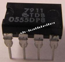 10 Stück - TDB0555DP8  NE555 Vintage Precision Timer - DIP8 Sescosem Thomson 10x