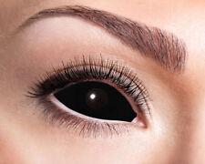 Black Eye Sclera Kontaktlinse NEU - Zubehör Accessoire Karneval Fasching