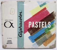 Weber Costello Alphacolor Pastels - 24 Sticks