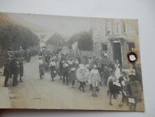 More details for vintage ayrshire postcard  damaged cig burn hole !   ka11 parade rp