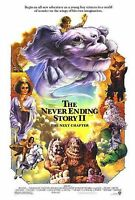 """THE NEVER ENDING STORY 2 1991 Original DS 2 Sided One Sheet 27x40"""" Movie Poster"""