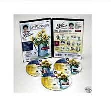 Scheewe 3-DVD Set 13-Paintings FRESH FLOWERS WATERCOLOR ,SERIES 11B EASY LEARN'G