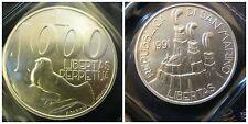 Repubblica di San Marino 1000 Lire 1991 argento unc/fdc