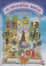 Mi Pequena Biblia DVD NEW Contiene 13 Historias ORIGINAL Nueva SEALED