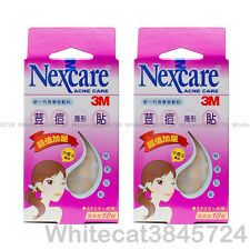 3M NEXCARE ACNE DRESSING PIMPLE STICKERS PATCH SMALL CIRCLE 40PCS (X2 PACKS)