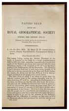 1873 Godwin-Austen - UNEXPLORED ASSAM - Remote Tribes