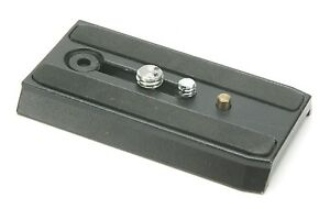 """Manfrotto Quick Release 3,5"""" Long Plate."""