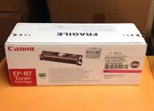 Canon EP-87 Magenta Toner Cartridge 7431A005 Genuine New