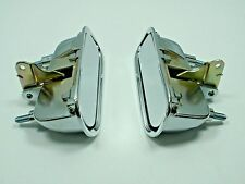 1969-1982 Chevy CORVETTE C3 Outside Exterior Door Handles PAIR Left & Right