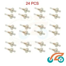 24 Pcs Replace Wcf192 / Z676 In-line Fuel Filter for 6mm Hose Lawnmower Whipper