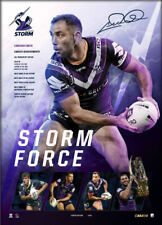 Cameron Smith Melbourne Storm 400 Game Official NRL Print ONLY - Storm Force