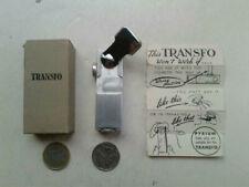 Vintage Unusual Crank Mechanism TRANSFO Pocket Cigarette Lighter MIB MCM
