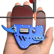 Archery Finger Tab Guard Bow Protector Gear Cow Leather Decut HOCKII RH LH Shoot