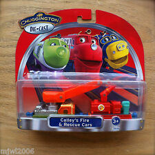CHUGGINGTON Diecast CALLEY'S FIRE & RESCUE CARS Learning Curve TOMY series rail