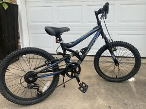 """Kids Hyper Shocker Bicycle Steel Suspension And 20"""" Light Weight Frame , 7 Speed"""