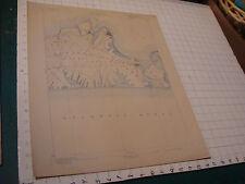 "New listing original Map: 1898 Massachusetts Marthas Vineyard Sheet, aprox 20 X 16"""