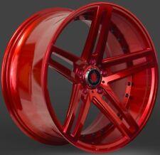 """20"""" rojo Axe Ex20 ciervo Aleación ruedas adecuadas BMW 5 6 7 E34 E39 E60 E61 E63"""