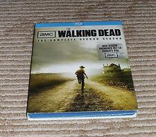 Walking Dead: Season 2 (Blu-ray Disc, 2012, 4-Disc Set) Factory Sealed! Region A