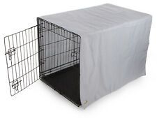 Dog TrustyPup Cozy Cove Crate Cover Large Grey White Pattern