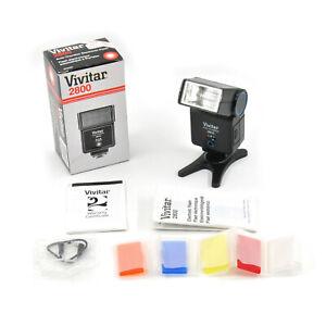 Vivitar 2800 Auto Thyristor Electronic Flash! Good Condition!
