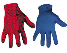 The Amazing Spider-Man Costume Gloves Adult, Halloween Fancy Dress Up, One-Size