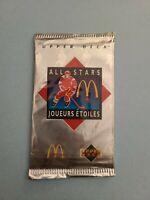 1992/1993 McDonald's Upper Deck Hockey Unopened Sealed Packs