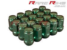 Green Hex Wheel Nuts x 20 12x1.5 Fits Toyota Starlet Celica Mr2 Supra Rav4